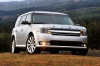 2015 Ford Flex SEL in Ingot Silver Metallic from a frontal view
