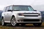2017 Ford Flex SEL in Ingot Silver Metallic - Static Front Right View
