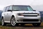 2018 Ford Flex SEL in Ingot Silver Metallic - Static Front Right View
