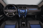 2010 Ford Fusion Sport Cockpit in Sport Blue