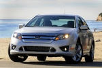 2010 Ford Fusion Sport AWD in Brilliant Silver Metallic - Static Front Left View