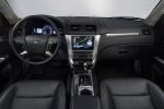 2010 Ford Fusion Hybrid Cockpit in Charcoal Black