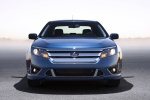2012 Ford Fusion Sport in Steel Blue Metallic - Static Frontal View