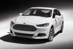 2013 Ford Fusion Titanium AWD in Oxford White - Static Front Left View