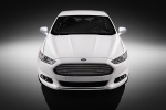 2014 Ford Fusion Titanium AWD in Oxford White - Static Frontal View