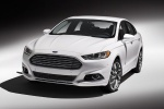 2014 Ford Fusion Titanium AWD in Oxford White - Static Front Left View