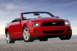 2010 Ford Mustang GT Convertible in Torch Red - Static Front Right Three-quarter View