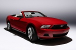 2010 Ford Mustang GT Convertible in Torch Red - Static Front Right View