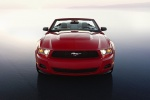 2010 Ford Mustang GT Convertible in Torch Red - Static Frontal View