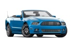 2013 Ford Mustang V6 Convertible in Grabber Blue - Static Front Right Three-quarter View