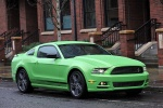 2014 Ford Mustang GT Coupe in Gotta Have It Green Metallic Tri-Coat - Static Front Right Three-quarter View