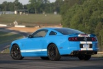 2014 Shelby GT500 Coupe in Grabber Blue - Static Rear Left Three-quarter View