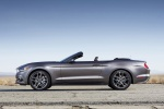 2015 Ford Mustang GT Convertible in Magnetic Metallic - Static Side View