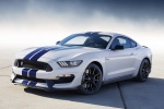 2016 Shelby GT350 in Oxford White - Static Front Left Three-quarter View