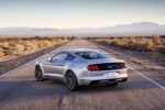 2017 Ford Mustang GT Fastback in Ingot Silver Metallic - Static Rear Left View