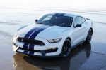 2017 Shelby GT350 in Oxford White - Static Front Left Top View