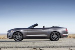 2017 Ford Mustang GT Convertible in Magnetic Metallic - Static Side View