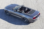 2017 Ford Mustang GT Convertible in Magnetic Metallic - Static Rear Left Top View