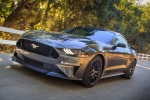 2018 Ford Mustang GT Fastback in Magnetic Metallic - Driving Front Left Three-quarter View