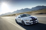 2018 Shelby GT350 Fastback in Oxford White - Driving Front Right View