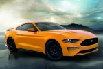 2018 Ford Mustang GT Fastback Performance Pack 1 in Orange Fury Metallic Tri-Coat - Static Front Right Three-quarter View
