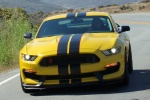 2018 Shelby GT350 R in Triple Yellow Tri-Coat - Driving Frontal View