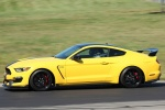 2018 Shelby GT350 R in Triple Yellow Tri-Coat - Driving Side View