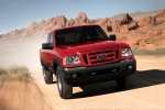 2010 Ford Ranger in Torch Red - Driving Frontal View