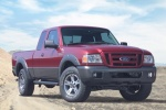 2011 Ford Ranger in Torch Red - Static Front Right View