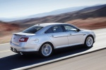 2011 Ford Taurus SHO in Ingot Silver Metallic - Driving Rear Right Three-quarter View
