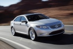 2011 Ford Taurus SHO in Ingot Silver Metallic - Driving Front Right Three-quarter View