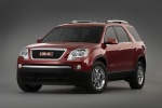 2012 GMC Acadia in Crystal Red Tintcoat - Static Front Left View