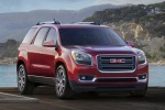2013 GMC Acadia SLT in Crystal Red Tintcoat - Static Front Right View