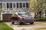 2017 GMC Acadia Denali in Crimson Red Tintcoat - Static Front Right View