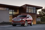 2017 GMC Acadia Denali in Crimson Red Tintcoat - Static Front Left View