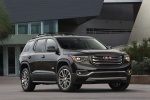 2019 GMC Acadia All Terrain in Ebony Twilight Metallic - Static Front Right View