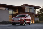 2019 GMC Acadia Denali in Red - Static Front Left View