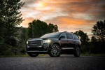 2020 GMC Acadia Denali AWD in Carbon Black Metallic - Static Front Left Three-quarter View