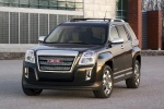2010 GMC Terrain SLT in Carbon Black Metallic - Static Front Left View