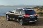 2015 GMC Terrain SLT in Carbon Black Metallic - Static Rear Left Three-quarter View