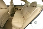 2010 Honda Accord Sedan Rear Seats in Ivory