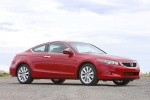 2010 Honda Accord Coupe V6 in San Marino Red - Static Front Right Three-quarter View
