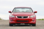 2010 Honda Accord Coupe V6 in San Marino Red - Static Frontal View