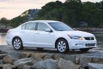 2010 Honda Accord Sedan V6 in White Diamond Pearl - Static Front Right Three-quarter View