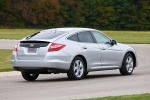 2010 Honda Accord Crosstour in Alabaster Silver Metallic - Driving Rear Right Three-quarter View