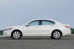 2010 Honda Accord Sedan V6 in White Diamond Pearl - Static Left Side View