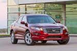 2011 Honda Accord Crosstour in San Marino Red - Static Front Right View