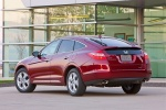 2011 Honda Accord Crosstour in San Marino Red - Static Rear Left Three-quarter View