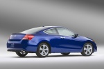 2012 Honda Accord Coupe EX-L V6 in Belize Blue Pearl - Static Rear Right Three-quarter View