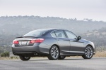 2015 Honda Accord Sedan Sport in Modern Steel Metallic - Static Rear Right Three-quarter View